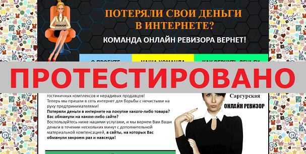 Онлайн Ревизор с proreviz.tk